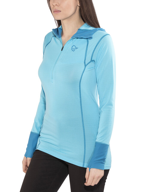 Norrøna Super Hoodie Women Ice Blue